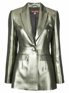Alexa Chung metallic blazer - Gold