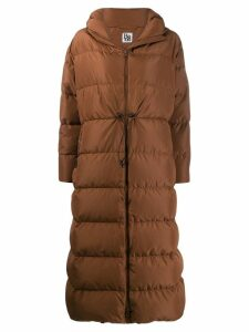 Bacon hooded padded coat - Brown