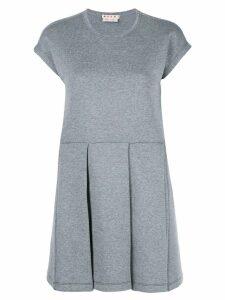 Marni pleated skirt dress - Grey