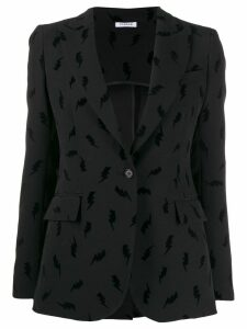 P.A.R.O.S.H. lightening print blazer - Black