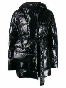 Bacon hooded padded jacket - Black