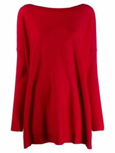 P.A.R.O.S.H. oversized jumper - Red