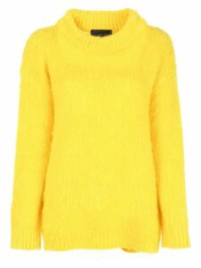 Erika Cavallini Turtleneck sweater - Yellow