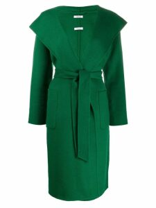 P.A.R.O.S.H. fitted hooded coat - Green
