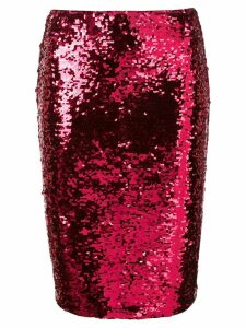 Alice+Olivia Ramos sequinned pencil skirt - Pink