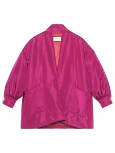 Gucci shawl collar bomber jacket - Pink