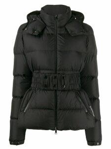 Moncler Don belted short jacket - Black