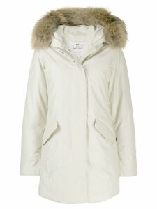 Woolrich hooded parka coat - Grey