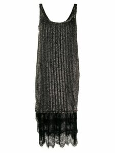 Twin-Set knitted dress - Black