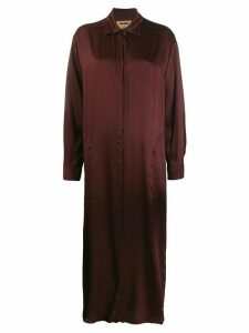 Uma Wang long shirt dress - Red