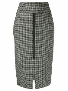 Tom Ford houndstooth pencil skirt - Black