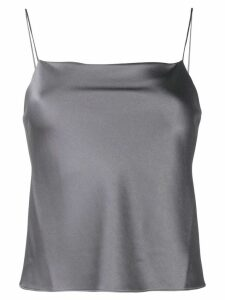Alice+Olivia Harmon slip top - Grey