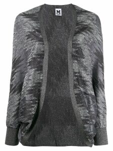 M Missoni open zigzag cardigan - Grey
