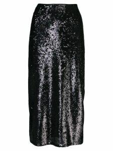 Cinq A Sept Marta sequin skirt - Black