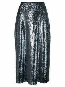 Cinq A Sept Marta sequined skirt - Blue