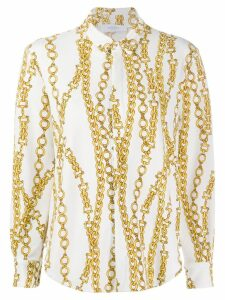 Roseanna chain print Sting shirt - White