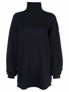Extreme Cashmere roll neck jumper - Blue