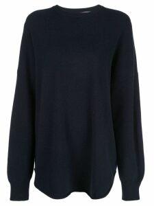 Extreme Cashmere oversized knit jumper - Blue