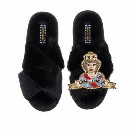 Ethereal London - Aria Print Midi Shirt Dress