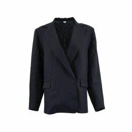 Nissa - 3D Floral Lace Pleated Dress