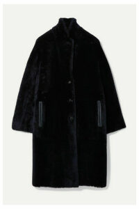 Joseph - Brittany Reversible Shearling Coat - Midnight blue