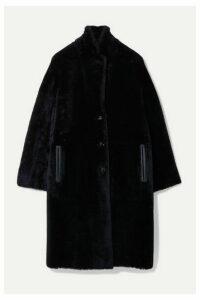 Joseph - Brittany Reversible Shearling Coat - Midnight blue