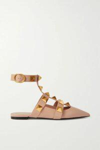 Victoria Beckham - Wrap-effect Pleated Snake-print Silk Midi Skirt - Snake print