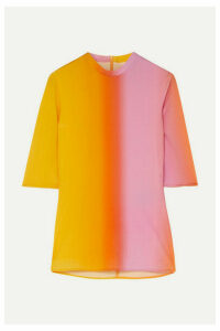 Ellery - Vitalism Dégradé Stretch-jersey Top - Yellow