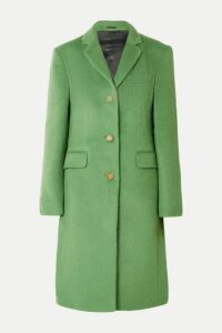 Acne Studios - Onita Brushed Alpaca And Wool-blend Coat - Green