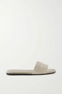 Ninety Percent - + Net Sustain Organic Cotton-jersey Track Pants - Red