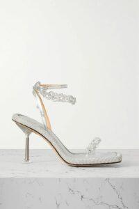 Michelle Mason - One-sleeve Silk-charmeuse Top - Black