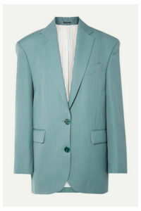 Acne Studios - Jilly Oversized Grain De Poudre Blazer - Blue