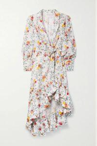 McQ Alexander McQueen - Houndstooth Wool-blend Mini Skirt - Ivory