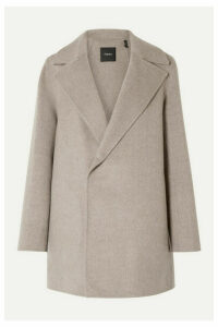 Theory - Wool And Cashmere-blend Coat - Taupe