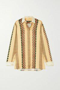 Tibi - Reversible Sequined Crepe Midi Dress - Mint