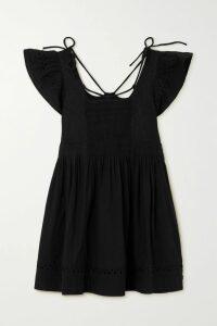 Jason Wu Collection - Ruffled Floral-print Silk-crepon Midi Dress - Pink