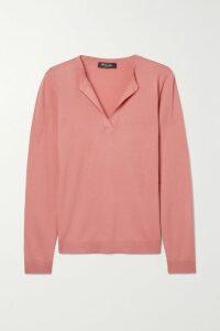 SAINT LAURENT - Sequined Crepe Mini Dress - Silver