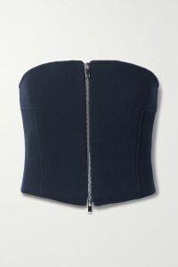 Versace - Vinyl Midi Skirt - Black