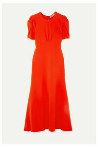 Maggie Marilyn - + Net Sustain It's Up To You Knotted Crepe Midi Dress - Orange