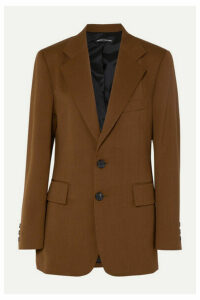 Kwaidan Editions - Oversized Twill Blazer - Brown