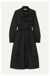 Molly Goddard - Hester Knotted Taffeta Coat - Black