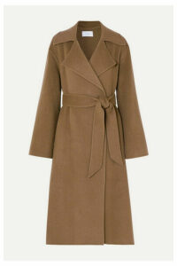 The Row - Efo Belted Cashmere And Wool-blend Coat - Beige
