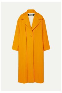 Jacquemus - Quito Oversized Cloqué Coat - Orange