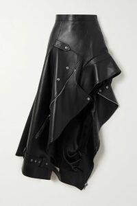 Cecilie Bahnsen - Rosie Quilted Velvet Midi Skirt - Black