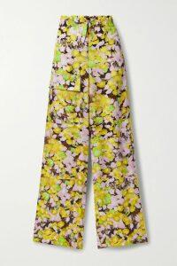 Versace - Printed Stretch-cotton Jersey T-shirt - Black