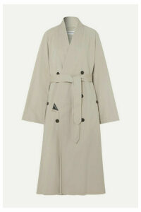 Balenciaga - Judo Oversized Cotton-twill Trench Coat - Beige