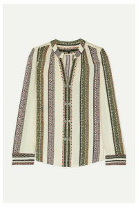 Derek Lam - Printed Silk-georgette Blouse - Ivory