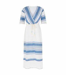 Welela Stripe Kaftan Dress