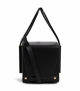 Leather Box Cross Body Bag