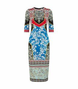 Delora Floral Midi Dress